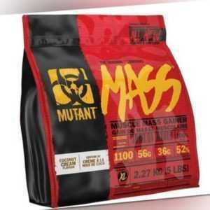 Mutant Mass 2270 g Weight Gainer Muskelaufbau Masseaufbau Vanilla Ice Cream