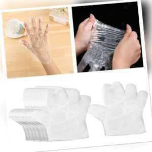 100/300/1000 Einweg Kunststoffhandschuhe aus Polyethylen PE