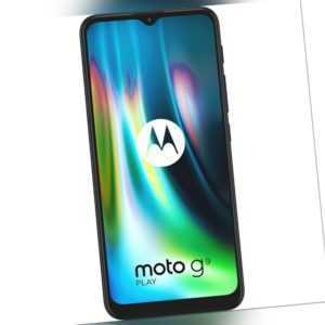 Motorola Moto G9 Play Smartphone 64GB 4GB RAM Blue 6,5 Zoll...