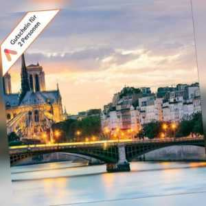 Kurzreise Paris 4 Tage für 2 Personen in modernem City Design Hotel Gutschein