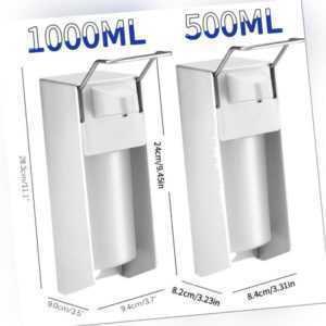 Desinfektionsmittelspender ,Seifenspender ,Wandmontage,Eurospender 500, 1000 ml