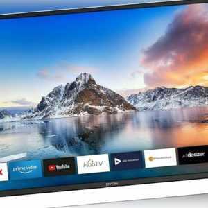 DYON Smart 43 XT LED Fernseher 42,5 Zoll Full HD Smart TV USB HDMI EEK: A+