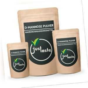 D-Mannose Pulver GRÖSSENAUSWAL   100% natürliches Mannose Pulver ohne Zusätze