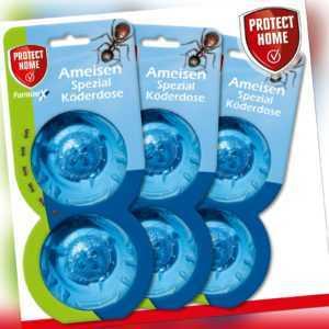 Protect Home 3x 2 Stück FormineX Ameisen Spezial Köderdose Terrasse Garage Haus