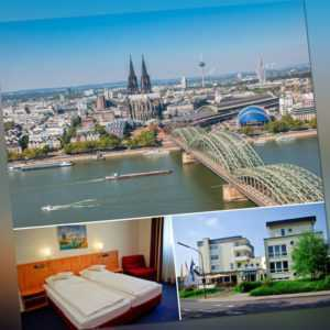 3-4 Tage Köln Wochenendtrip 3★ Hotel für 2 Personen Altstadt Rhein Dom & Kölsch