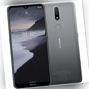 "Nokia 2.4 32GB Smartphone schwarz Android 10/11 ready 6.5"" HD+"