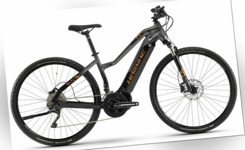 "Pedelec 28"" Haibike SDuro Cross 6.0 E-Bike Yamaha 500Wh 70Nm Trekking RH44 Damen"