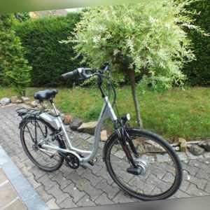 Elektrofahrrad E Bike VICTORIA Nu Vinci Silber 28 Zoll Rahmen Gr. 49  Ohne Akku
