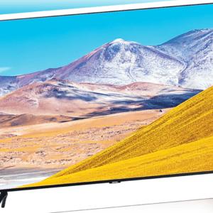 Samsung GU65TU8000TXZG 165 cm (65 Zoll) 4K Ultra HD Smart-TV WLAN DVB-C/T2