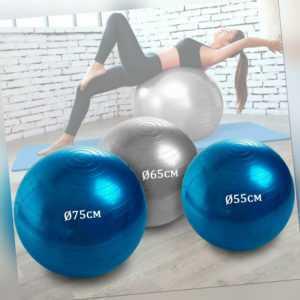Gymnastikball Sitzball Fitnessball Yoga Pilates Ball Sportball Balance Bürostuhl