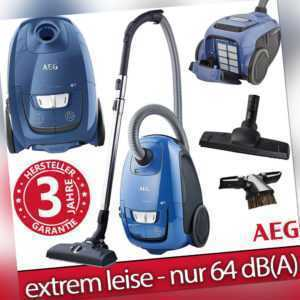 AEG Staubsauger Bodenstaubsauger Ultra Silence mit Beutel Sauger Teppich Parkett