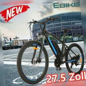 """Elektrisches Mountainbike 26""""/27,5"""" Elektrofahrrad ebike Citybike 250W Pedelec"""