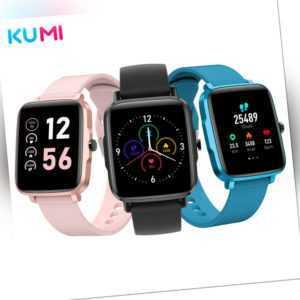 KUMI KU1S Smart Watch Waterproof Fitness Heart Rate Tracker Sport Watch