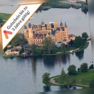 Kurzreise nahe Schwerin 4 Tage 4 Sterne Schloss Hotel 2 Pers Gutschein 2x Dinner