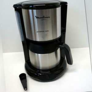 Moulinex Thermo-Kaffeemaschine Subito Edelstahl (FT3608)-Ausstellungsstück