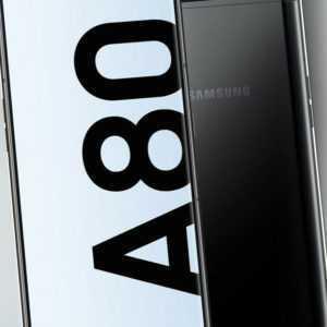 Samsung Galaxy A80 SM-A805F DUAL SIM Phantom Black, NEU Sonstige