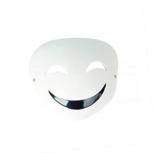 Black Bullet Maske von Kagetane Hiruko für Cosplay Kostüm | GFK | Weiß
