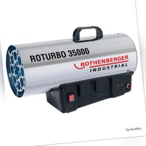 Rothenberger Industrial Gasheizkanone Roturbo 35000 Heizgerät - neue Version!