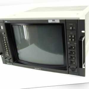 "Sony BVM-1416P HR Trinitron Vintage Broadcast Referenz Monitor CRT 19"" Rack PAL"