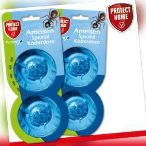 Protect Home 2 x 2 Stück FormineX Ameisen Spezial Köderdose Bekämpfung Haus