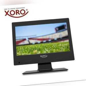 "XORO PTL 1250 Tragbarer Fernseher 12"" Zoll, DVB-T2 Tuner, CI+ Slot 12V/220V, USB"