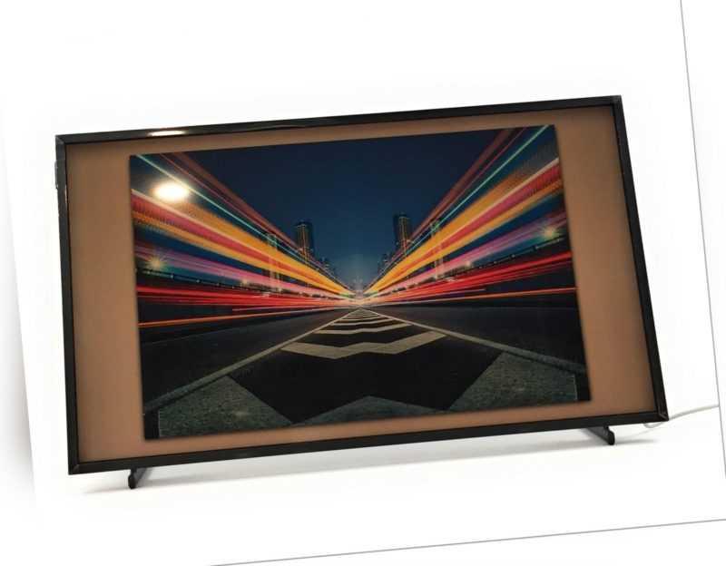 Samsung LS03T The Frame 80 cm QLED Lifestyle Fernseher Art Mode Dual LED HDR 10+