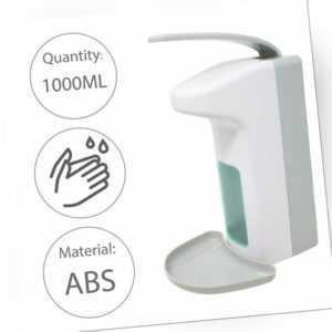 1000ML Desinfektionsmittelspender Ellbogenbed Spender Seifenspender Wandmontage