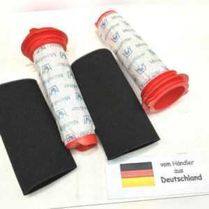 2x Filter Set passend für Bosch Athlet BCH6ZOOO/01, BCH6ZOOO/02 Zoo'o25.2V