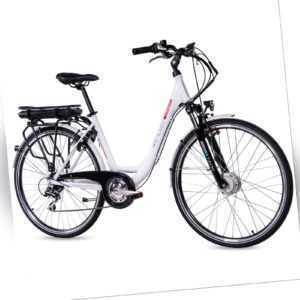 28 Zoll Elektrofahrrad Damen E-Bike CHRISSON E-LADY 8G Shimano Ananda 468Wh