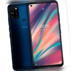 Wiko View 5 Smartphone Android 6,55 Zoll/3 GB RAM/64 GB/5000...