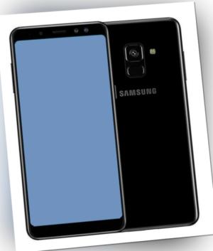 Samsung Galaxy A8 2018 32GB SM-A530F/DS Schwarz Dual-Sim Smartphone SIMLOCK OVP