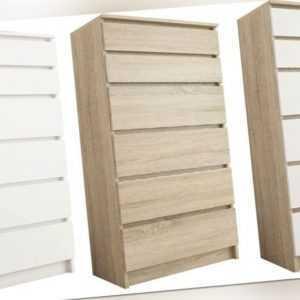 Schöne moderne Kommode 4+2 UNO Schubladen Schrank beste Qualität!!!!!!