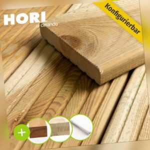 Terrassendiele Holz Kiefer massiv Komplettset Komplettbausatz 5-100 m²