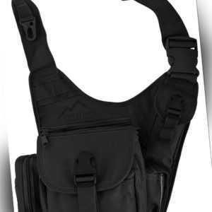 Schulter-Umhängetasche Schultertasche Tactical Brusttasch Sling-Bag Crossbody