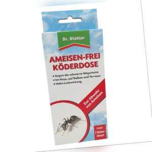 Ameisen Frei Köderdose 2 Stück Dr. Stähler Ameisenköder 2 Dosen Ameisen Ex