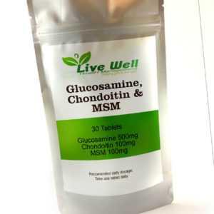Glukosamin, Chondroitin, & Msm Komplex 30 Tabletten