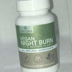 Enolenia Vegan NIGHT F-BURN extrem Kapseln burner Stoffwechsel Fettverbrennung