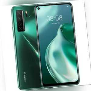Huawei P40 Lite 5G 128GB SF green 6GB RAM 64MP Handy Smartphone...