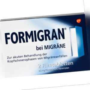 Formigran bei Migräne Filmtabletten, 2 St. Tabletten 2195485