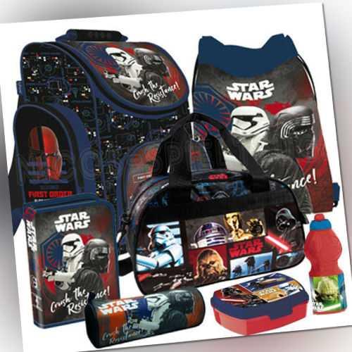 Star Wars Schulranzen Tornister Ranzen Rucksack Set Schulrucksack Sporttasche