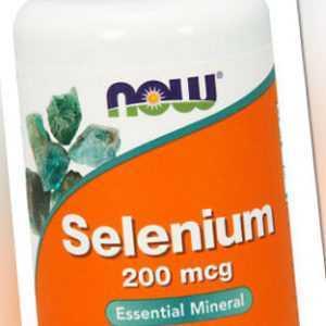 Now Foods, Selenium, 200mcg, 90 Vegane Kapseln - Blitzversand