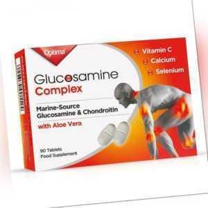 Optima Glucosamin Gelenk Komplex Glukosamin & Chondroitin 90 Tabletten