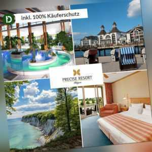 4 Tage Urlaub an der Ostsee im Precise Resort Rügen