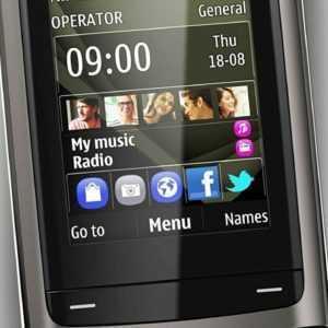 Nokia  C2-05 BLACK Neuware Slider-Handy VGA CAM Bluetooth...