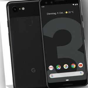 "Google Pixel 3 schwarz 64GB LTE Android Smartphone 5,5"" OLED 12,2..."