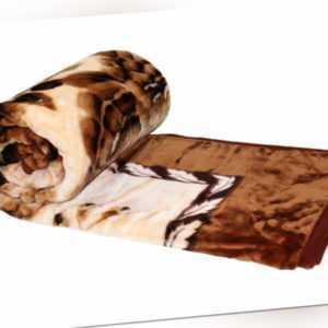 HAFIX Kuscheldecke Tagesdecke Wolldecke Überwurfdecke in 200x240cm