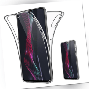 For Samsung Galaxy A80 ,  360 Clear Front + Back Full Case Screen ...