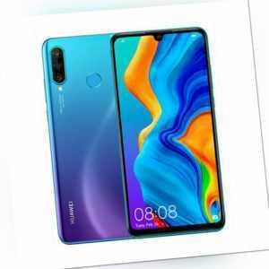 Huawei P30 Lite Smartphone 128GB Blau Peacock Blue