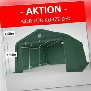 3,3x4,7m Zeltgarage Garagenzelt Lagerzelt Unterstand Weidezelt GRÜN Carport PE