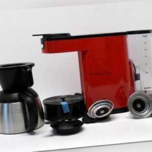 SENSEO HD6592/80 NEW Switch Rot-Schwarz, Ausstellungsstück